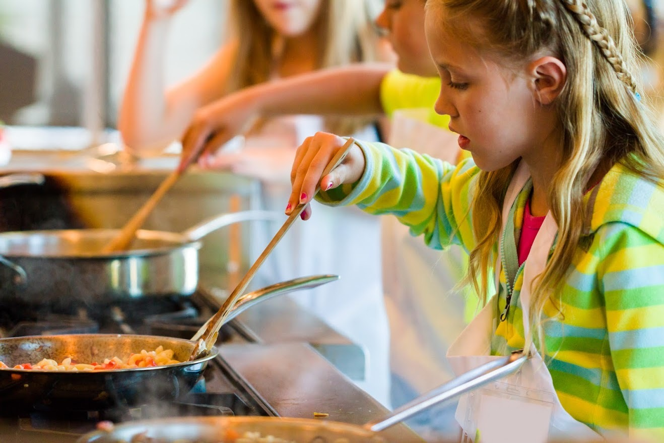 Image result for importance of kids cooking