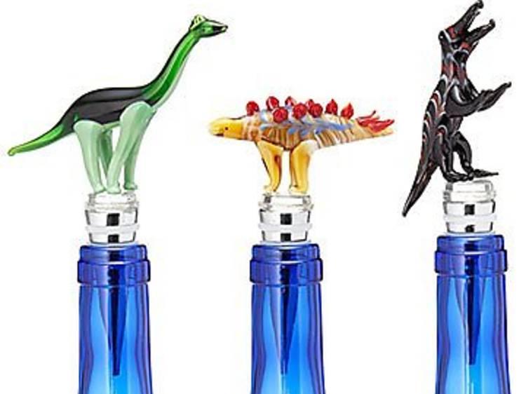 Dinosaur Wine Bottle Stoppers
