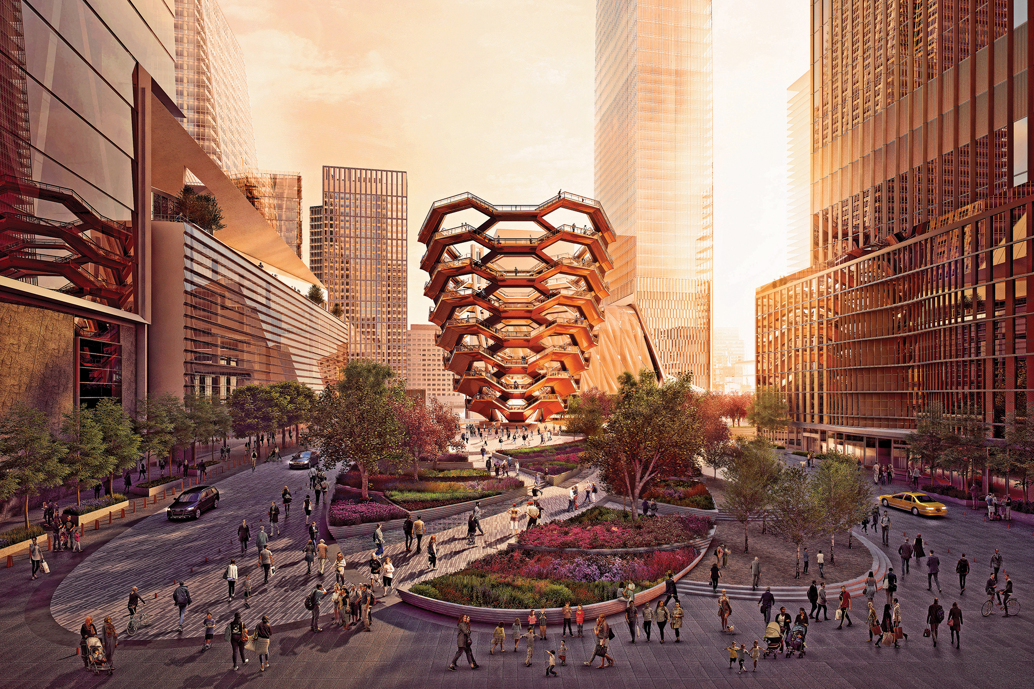 Sign up now to be one of the first to climb the massive new interactive sculpture, The Vessel