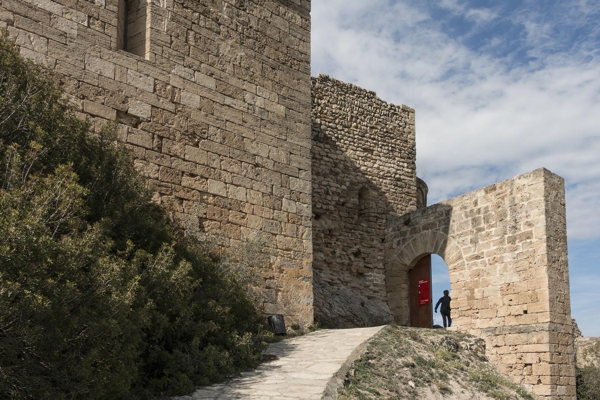 Castell de Claramunt a La Pobla de Claramunt