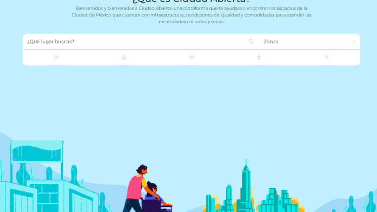 Ciudad Abierta, La primera plataforma de inclusión y accesibilidad de la CDMX