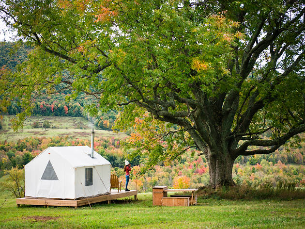 The best places to go glamping near NYC
