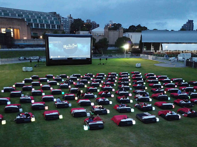 Mov'in Bed Outdoor Cinema