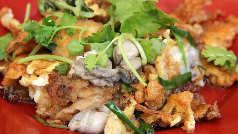 simon road oyster omelette