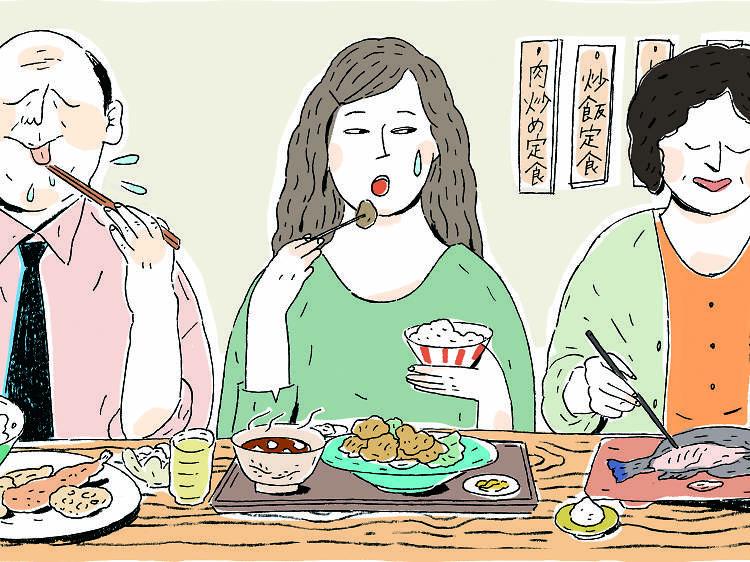 How to use chopsticks like a Tokyoite