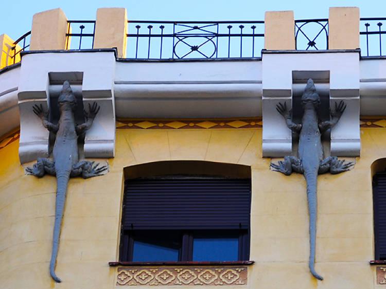 Casa Lagartos