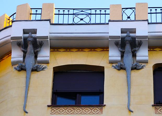 La casa de los lagartos