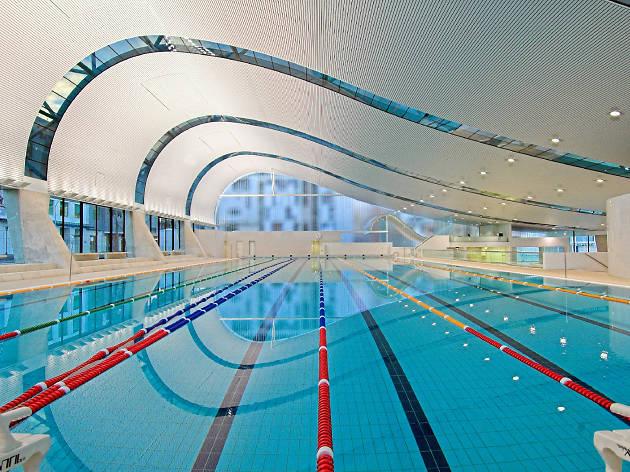 The swimming pool at Ian Thorpe Aquatic Centre