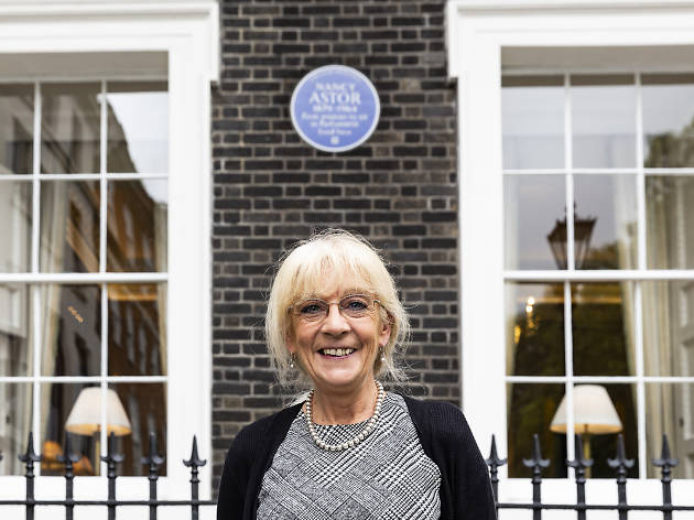 Cathy Power TYOK Blue Plaques manager