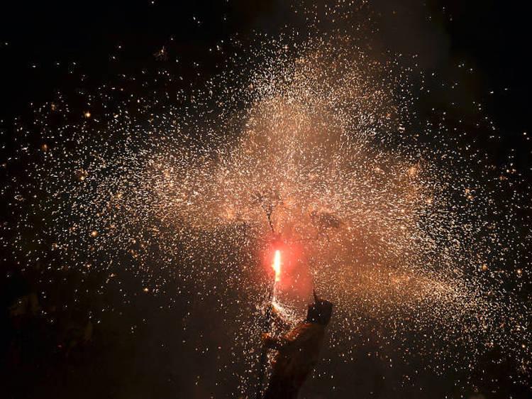 Diables i focs artificials