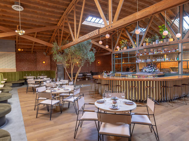 Atrium restaurant in Los Feliz from Kettle Black and Sawyer owners