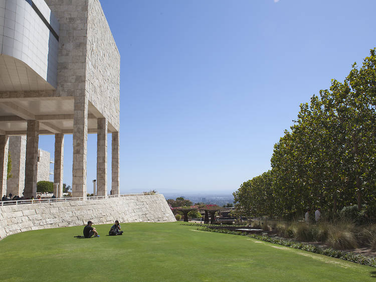 Bow down to the masters at the Getty