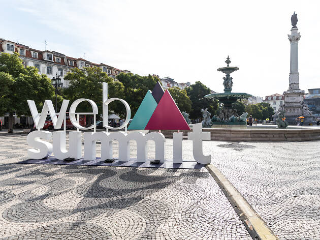 rossio, web summit, evento