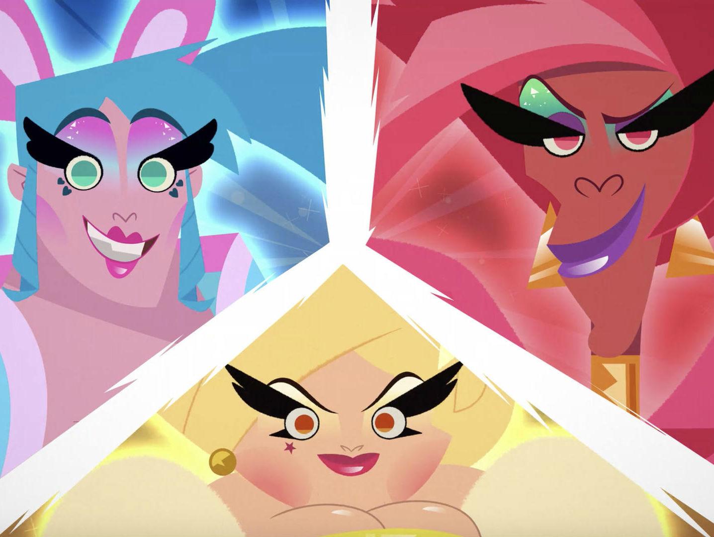 Super Drags, la serie animada LGBTTTI de Netflix