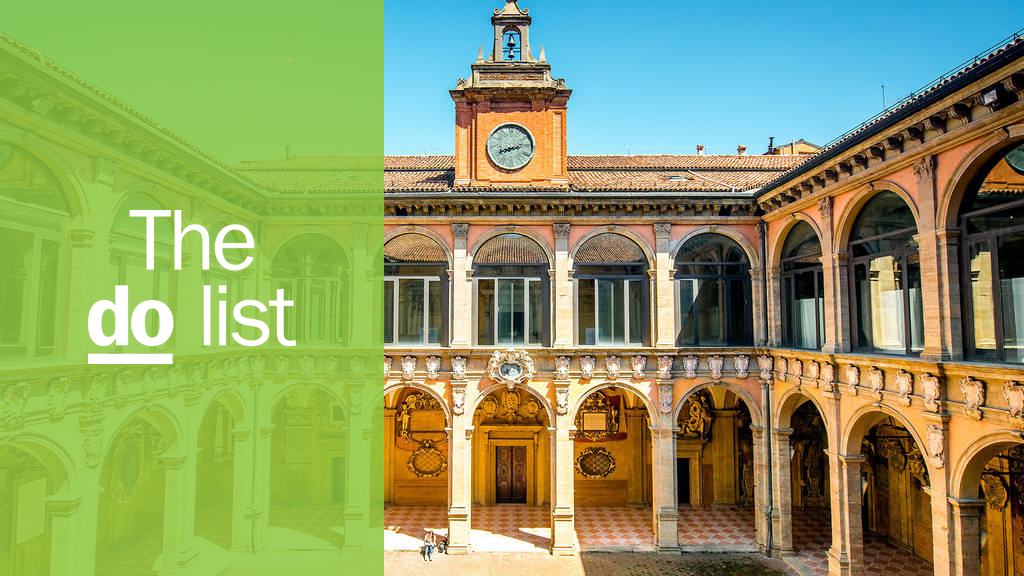 The 13 best things to do in Bologna