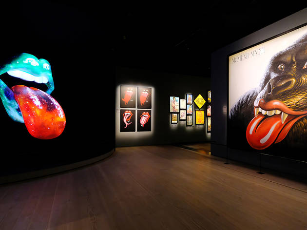 The Rolling Stones Exhibit (Photograph: Supplied)