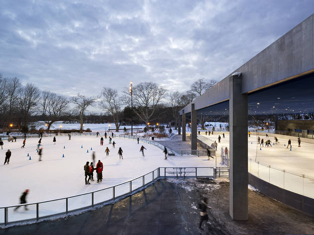 Best ice skating in NYC for kids and families