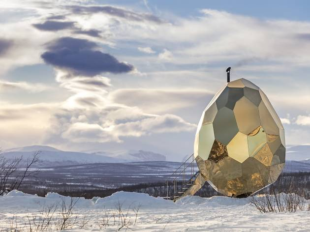 Solar Egg by Bigert & Bergström for Riksbyggen