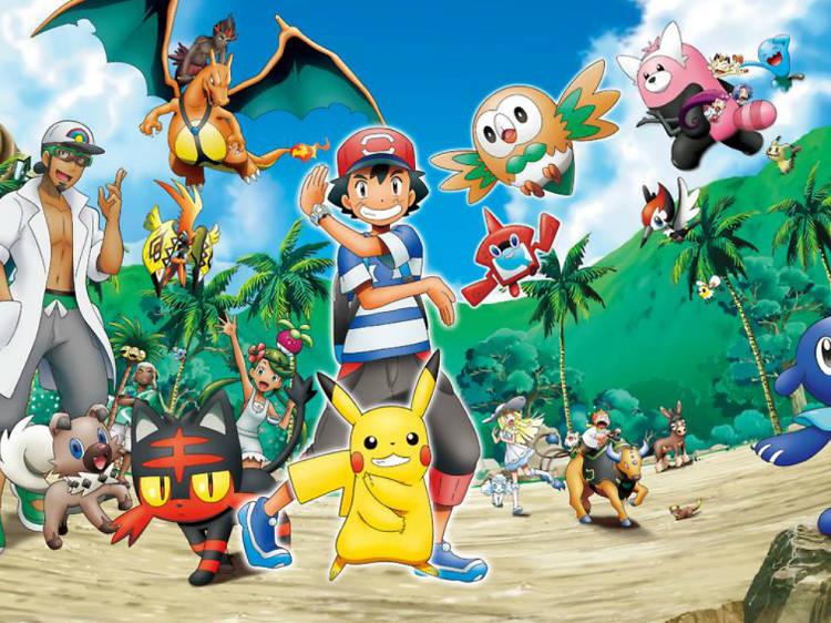 Pokémon: Sol y Luna: Temporada 1