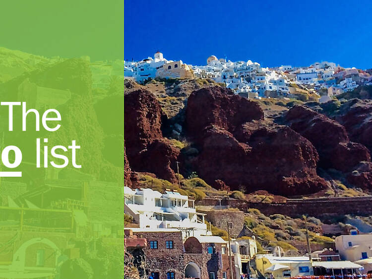 The 9 best things to do in Santorini