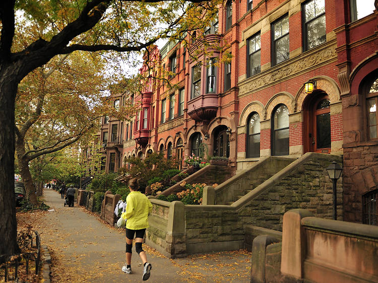 Take in Brooklyn Heights and the Promenade
