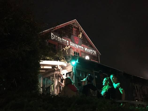 Barrett's Haunted Mansion