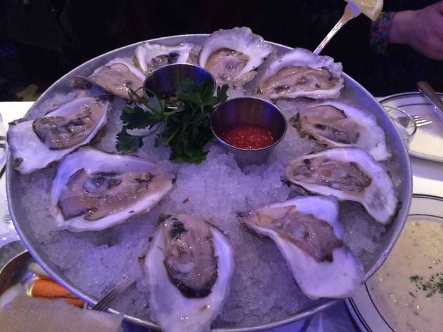Oceanaire Oysters