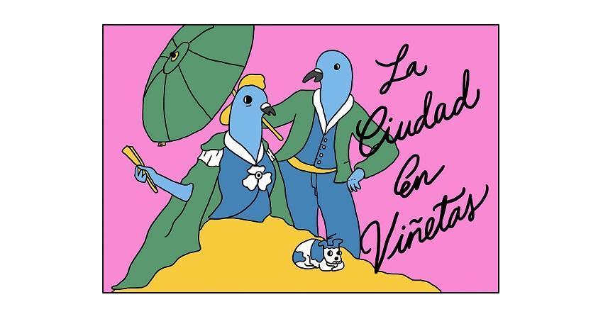 Miriampersand, La Ciudad en viñetas