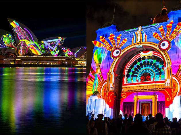 White Night will take on Sydney's Vivid in the battle for light show supremacy