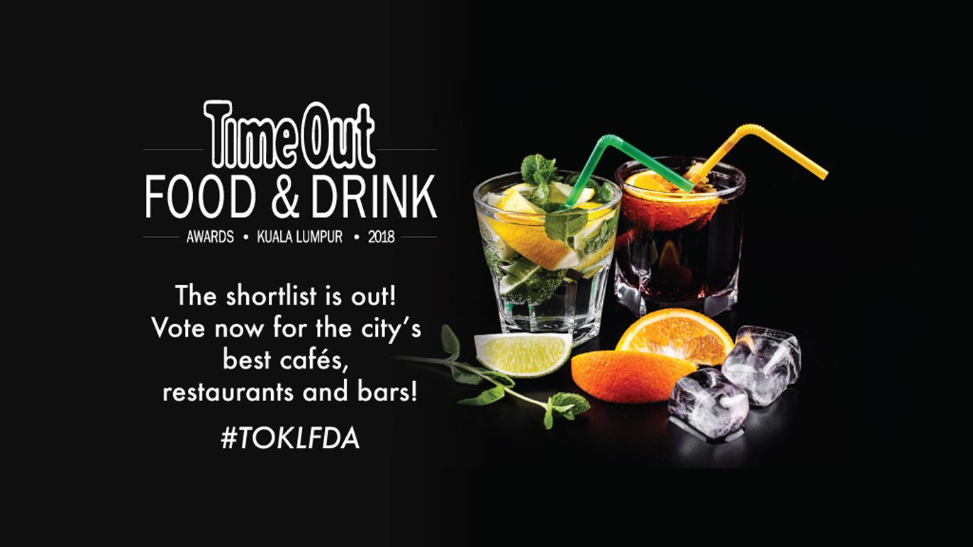 Time Out KL Food & Drink Awards 2018