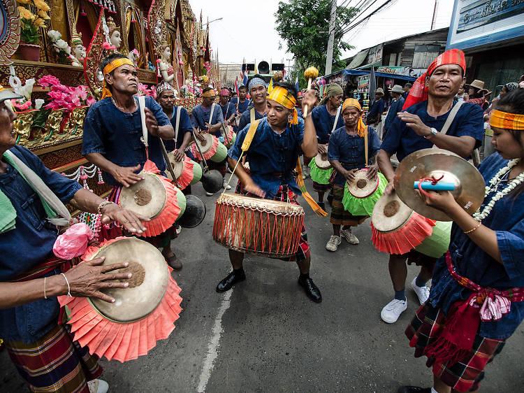 Attend the bizarre Bung Bang Fai (Rocket Festivals)