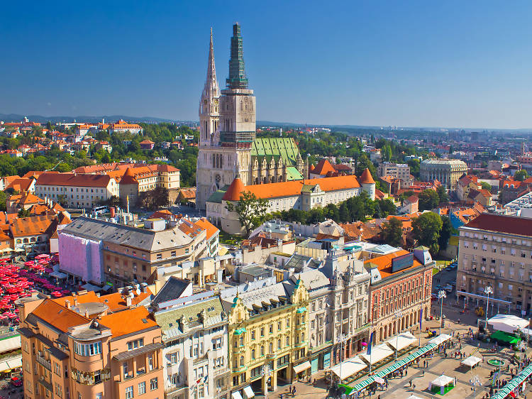 Zagreb bars with the best views