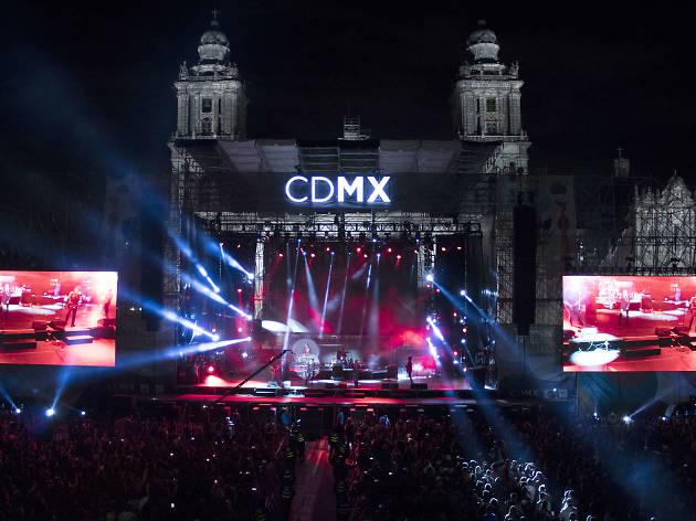 Semana de las Juventudes en el Zócalo de la CDMX