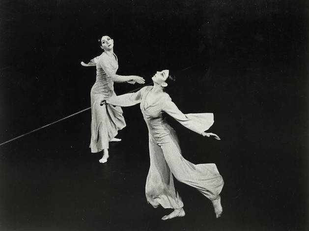 Twyla Tharp and Graciela Figueroa