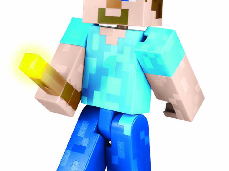 Minecraft Light Up Feature Figure
