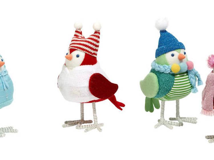 Wondershop Fabric Bird Figurals
