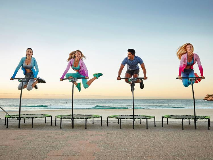 Trampo-Line Jumping Fitness