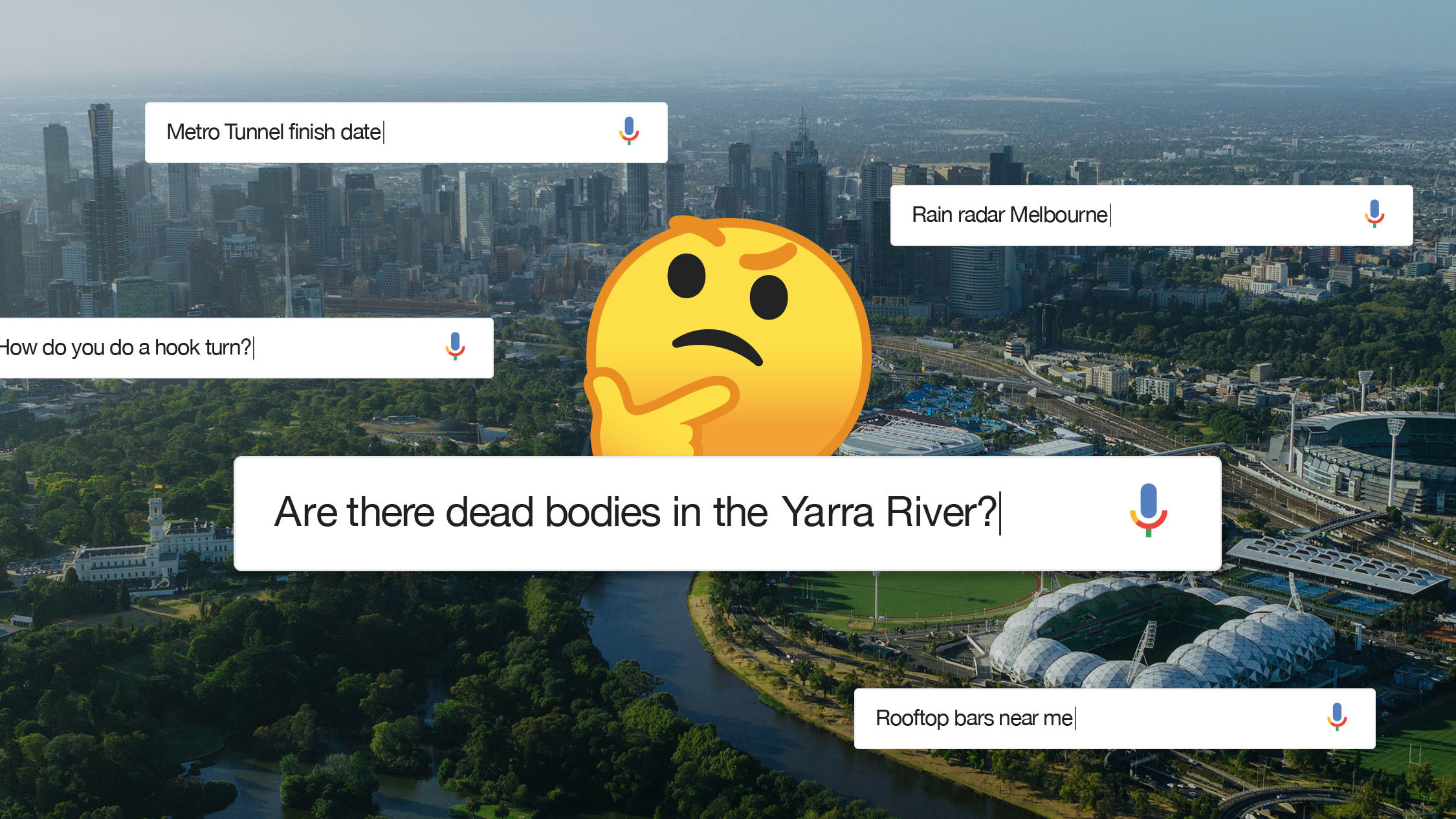 The 19 things every Melburnian has Googled at least once