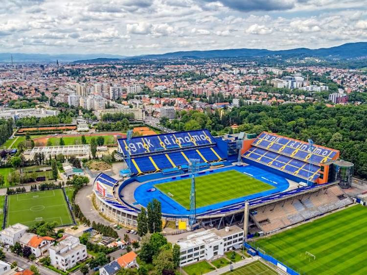Catch a game at Maksimir