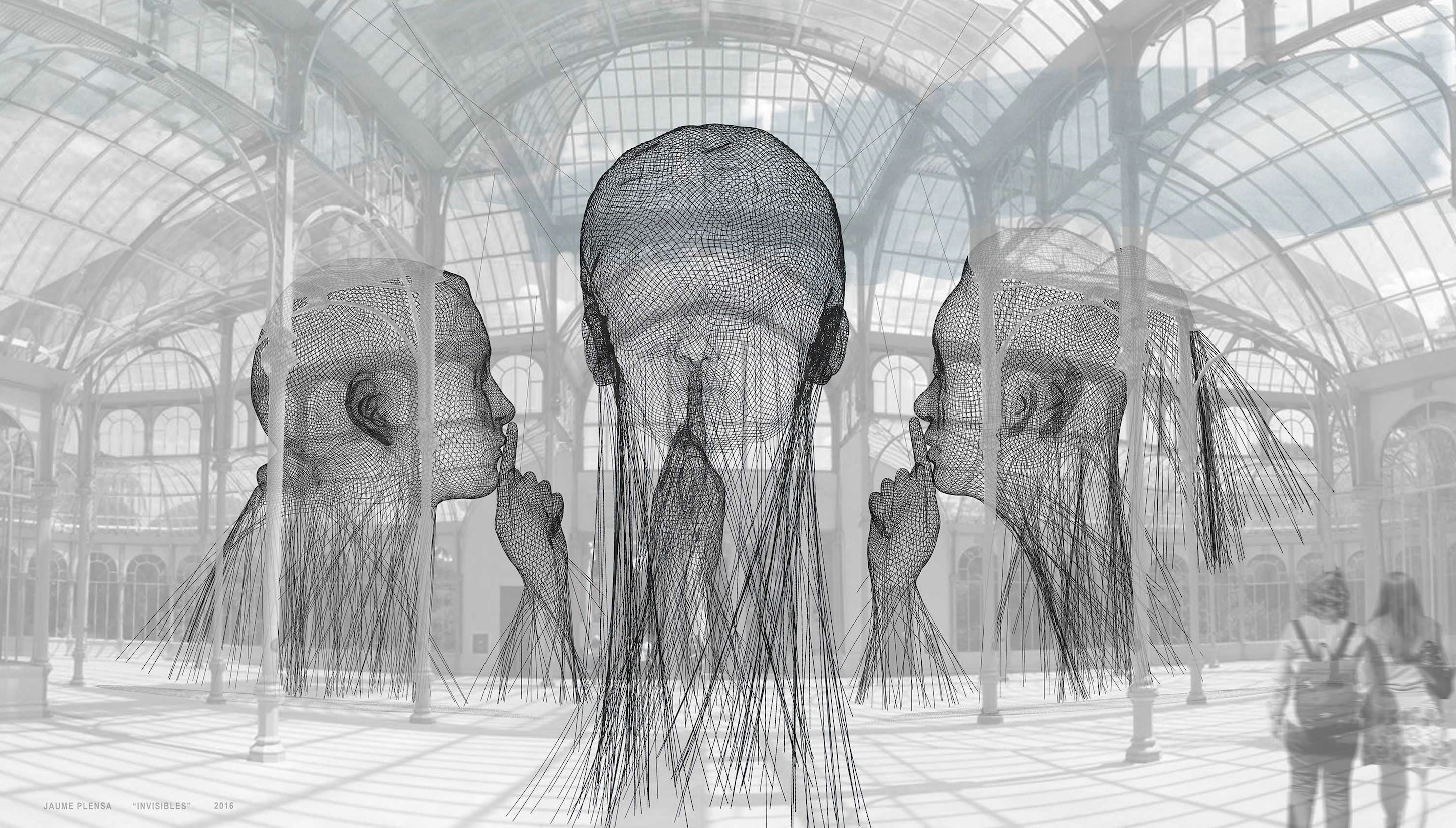 Jaume Plensa. Invisibles