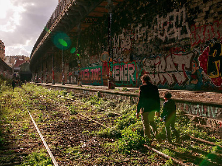 Get your art on at former train station Hasard Ludique