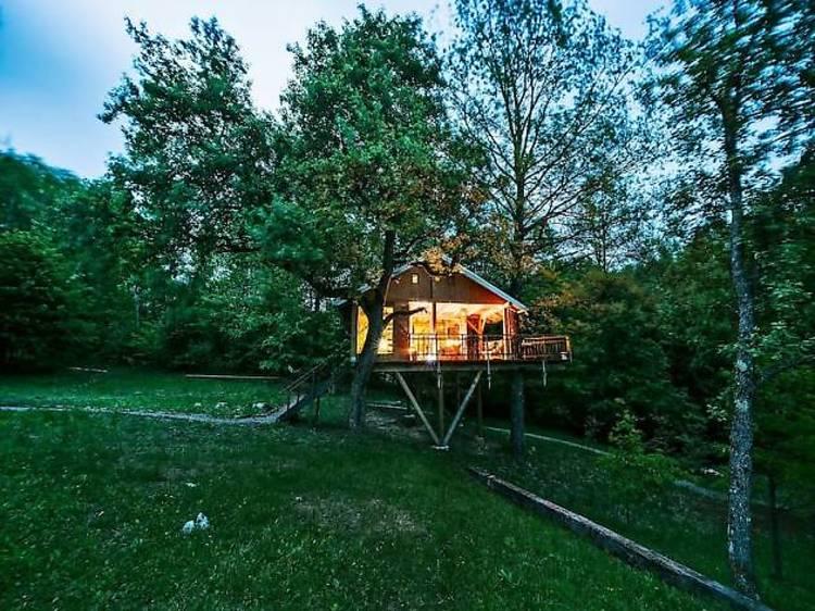 Treehouse Resnice, Barilović