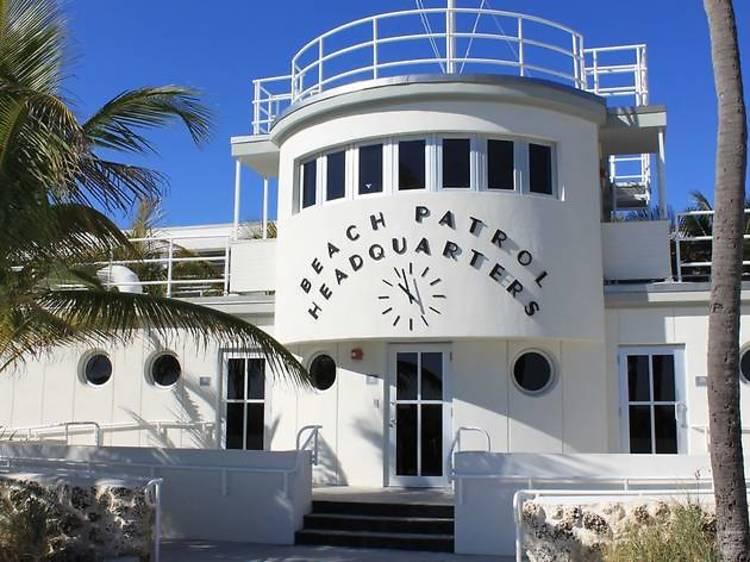 Art Deco Beach Patrol Headquarters