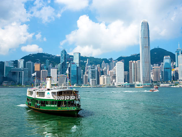 Hong Kong Victoria Harbour + Star Ferry