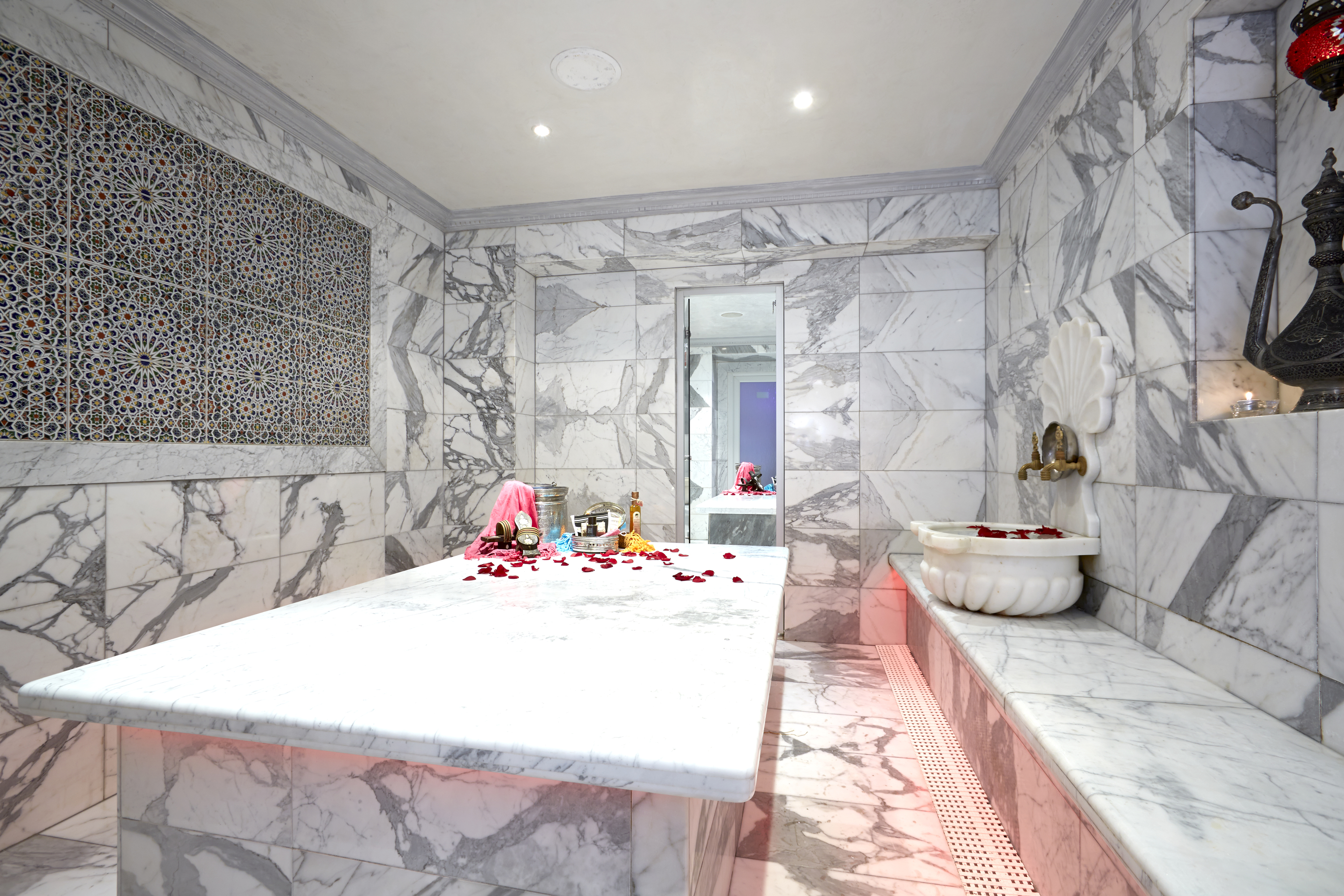 Turkish hammam at Marylebone's Crystal Palace Spa