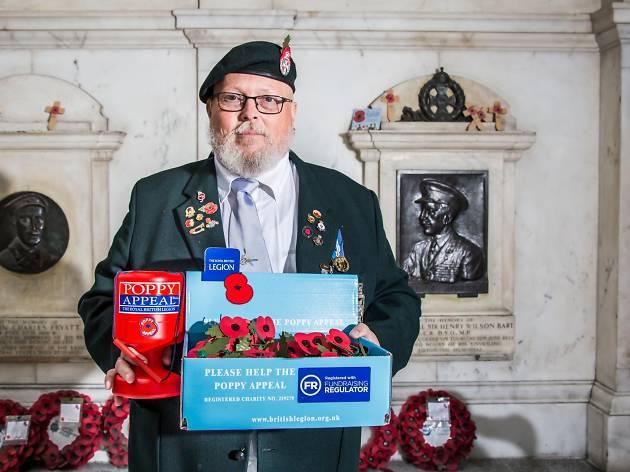 Steve Newson, Poppy Appeal Organiser