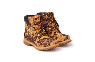 Pharrell Bee Line Honeycomb Timberlands 2