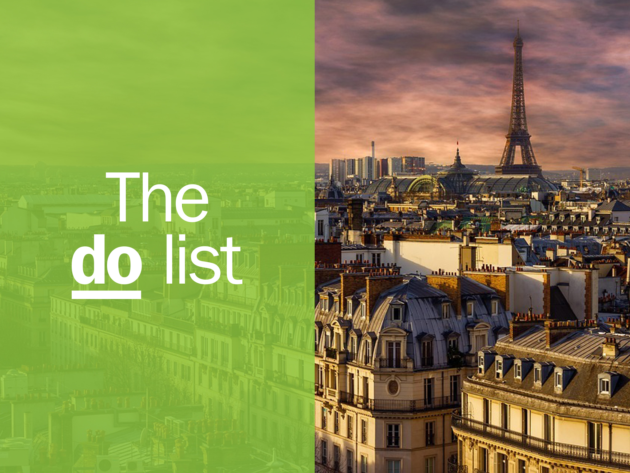 101 brilliant things to do in Paris