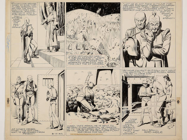 L'esclat dels còmics. Contrastos i influències dels grans mestres de la historieta nord-americana (1895-1955)