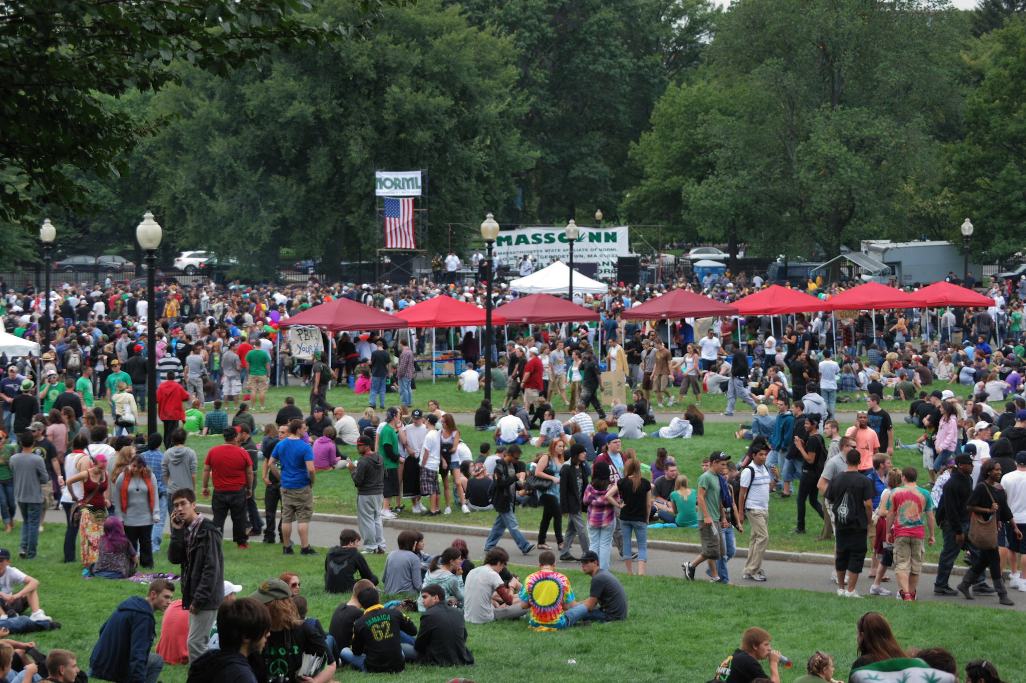 Massachusetts Cannabis Reform Coalition's Freedom Rally